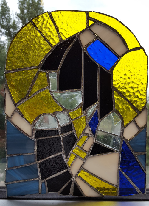 Picture of the Stained Glass art